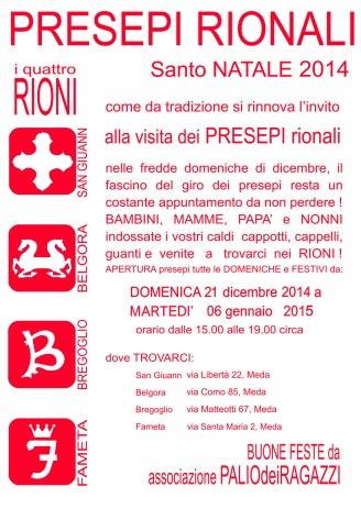 Manifesto Presepi