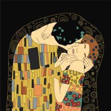 Klimt-Kiss